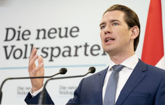 Austria's conservatives and greens enter coalition talks