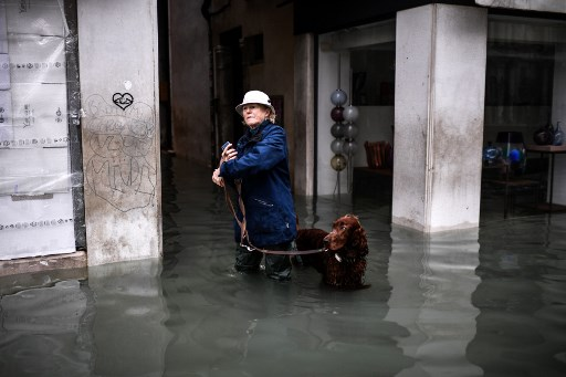 'Venice is on its knees': Venetians angry after record flooding devastates city