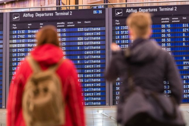 Hundreds of flights cancelled in Germany as Lufthansa strike continues
