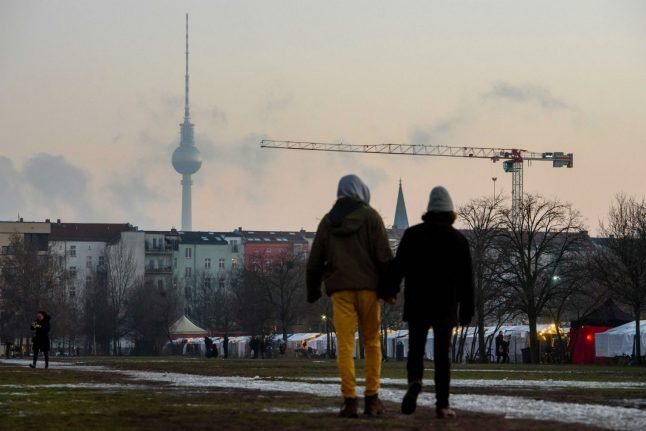 'Louder, more crowded and more dangerous': How locals think Berlin has changed since the fall of the wall