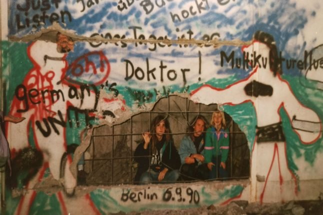 Berlin Wall fall: 'It was like Easter, Christmas and NYE rolled into one'