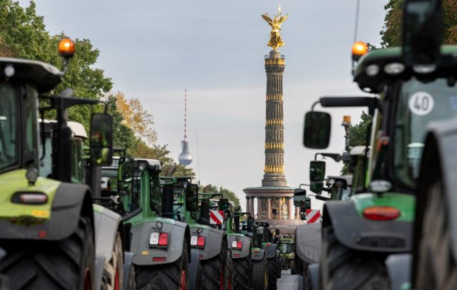 How farmer protests are set to shut down Germany's streets