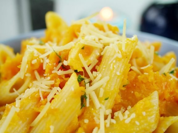 How to make real Neapolitan pasta with pumpkin