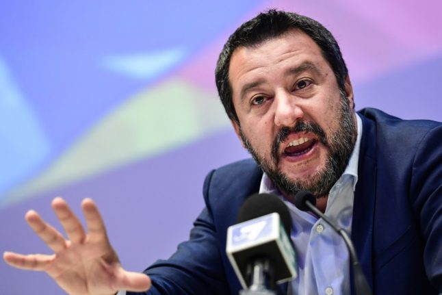 Italy's Salvini faces investigation over 'misuse' of police aircraft