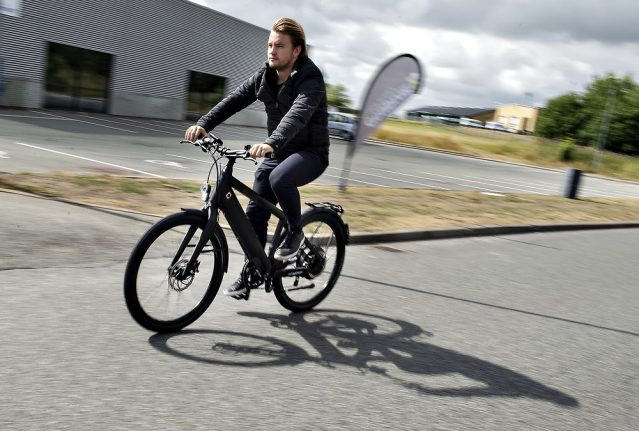 Is the electric bicycle Denmark's new car?