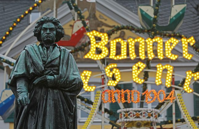 How Germany is celebrating 250-year-old 'pop star' Beethoven
