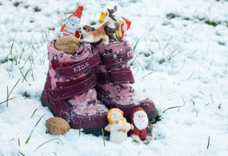 Why is Nikolaustag celebrated before Christmas in Germany?