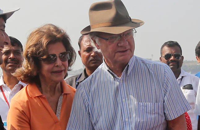 Why the King of Sweden carried his own hand luggage in India (and went viral in the process)