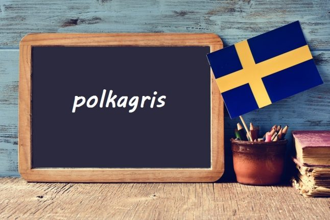 Swedish word of the day: polkagris