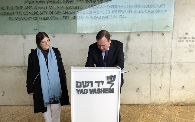 'We are concerned about anti-Semitism in Sweden, there's no doubt'