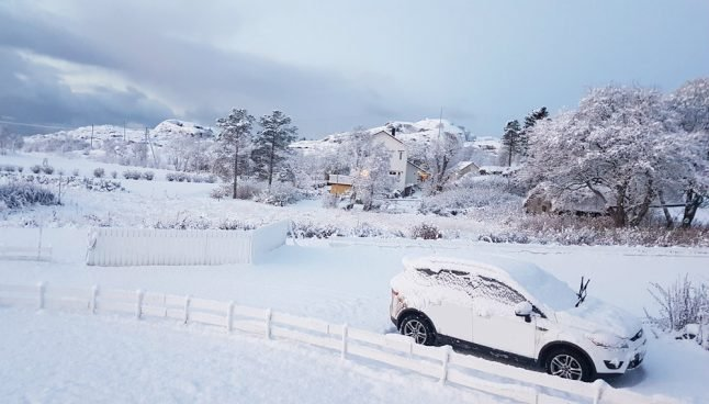 How much snow will there be in Norway in 2050?