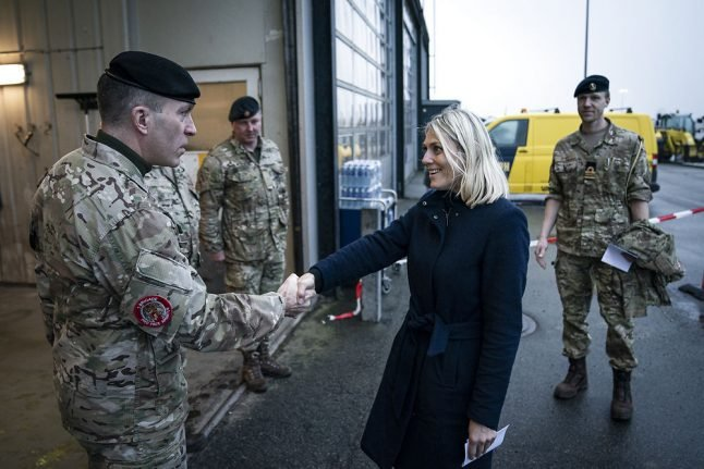 Danish soldiers leave Iraq amid Middle East tensions