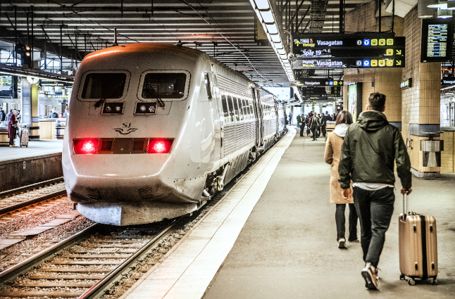 New record: How many Swedish trains arrived on time last year