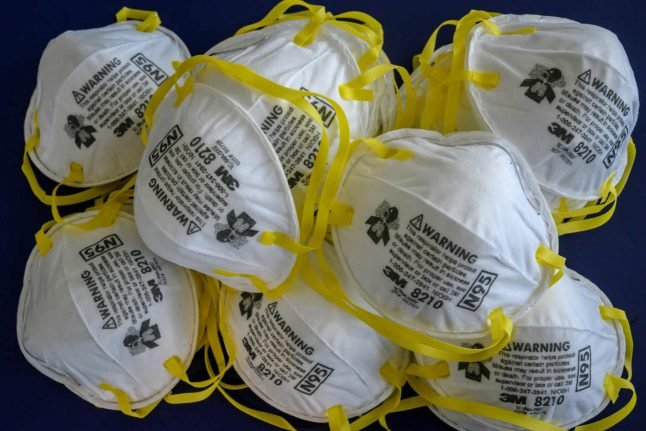 Switzerland sells out of surgical masks as fear of coronavirus spreads