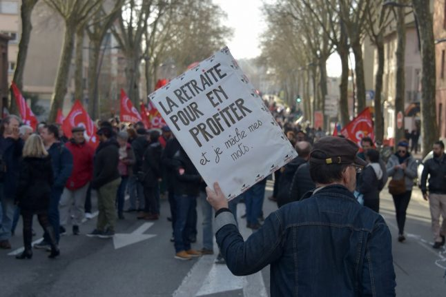 Pension demonstrations in France: What's happening on Wednesday