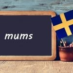 Swedish word of the day: mums