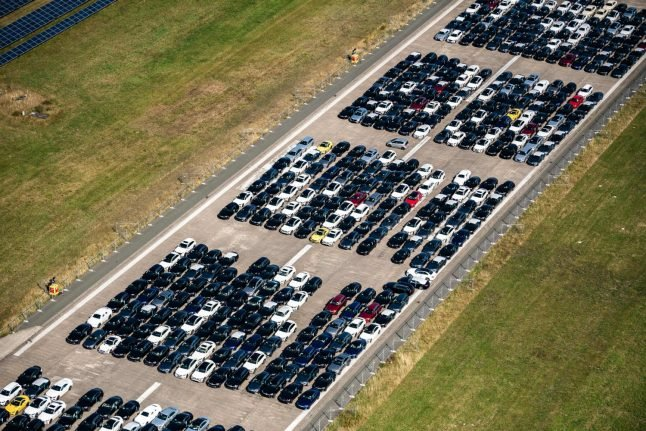Why has German car production hit a 22-year low?
