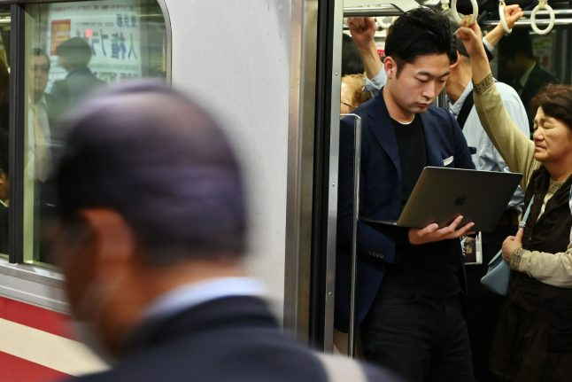 Commuting workers in Switzerland can now be paid for work done on the train