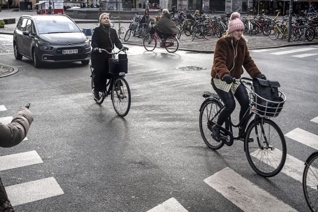 Map: These are the most dangerous road crossings in Copenhagen