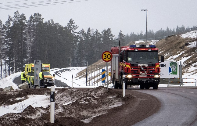 Two injured after fire traps 130 workers in Swedish mine