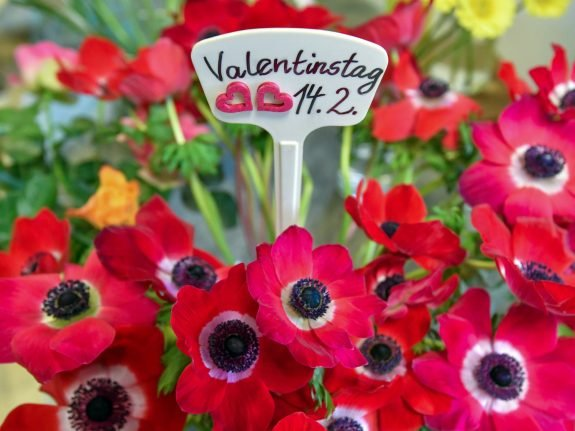 It's all sunshine and roses, but mostly roses: What Germans want for Valentinstag