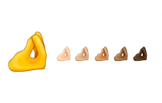 Finally there's an emoji for that Italian hand gesture