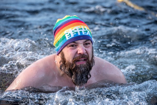 Ice-swimming in Sweden: Is this the world's most extreme competition?