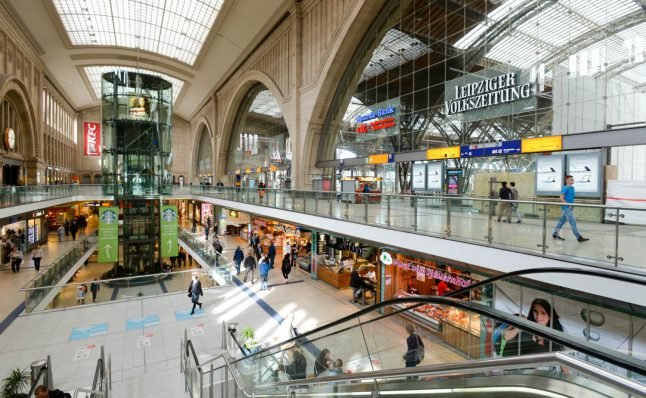 What makes German train stations among the best in Europe?
