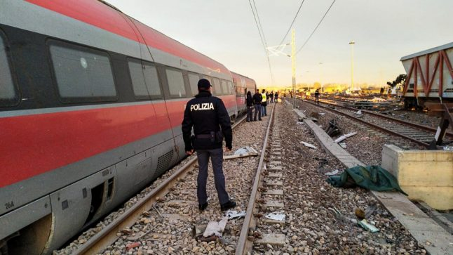 How safe is Italy's high-speed rail network?