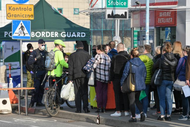 'We're in panic': Travellers stranded for days after Polish-German border shuts
