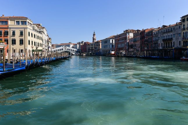 IN PHOTOS: Silent squares and clear waters as Venice stands empty