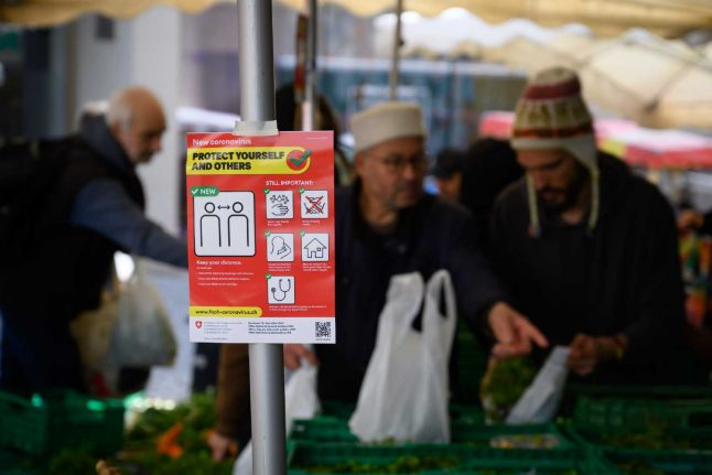 Swiss supermarket launches free delivery service for 'at risk' groups