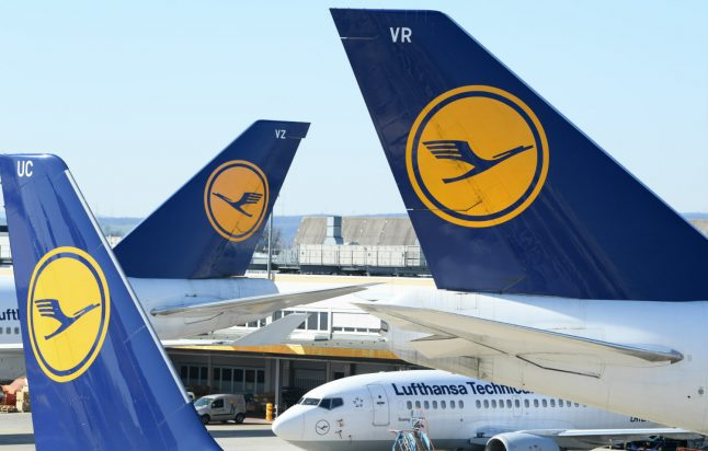 German airline giant Lufthansa puts 87,000 workers on reduced hours