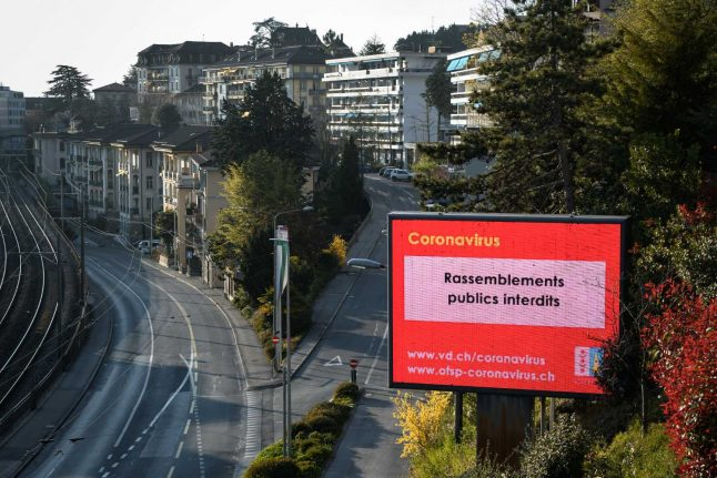 First Swiss canton calls for an easing to lockdown restrictions