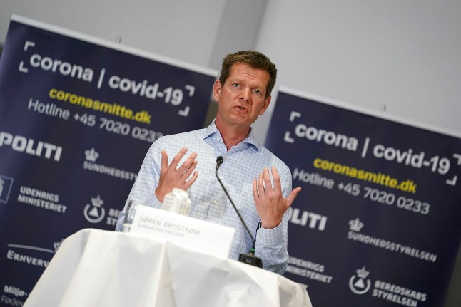 Danish health chief gives OK to lockdown love: 'Sex is good. Sex is healthy'
