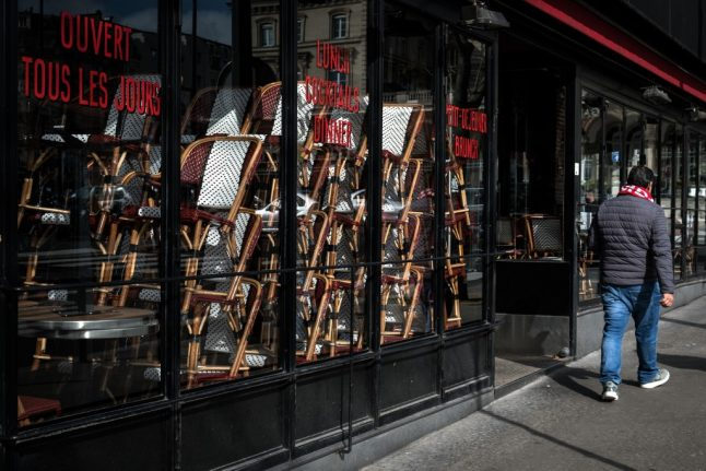 Chefs warn: Forty percent of France's cafés and bistrots may not reopen after lockdown