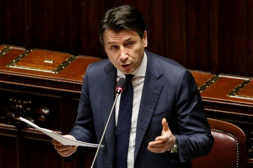 Italian PM Conte demands more financial aid from Europe as shutdown continues