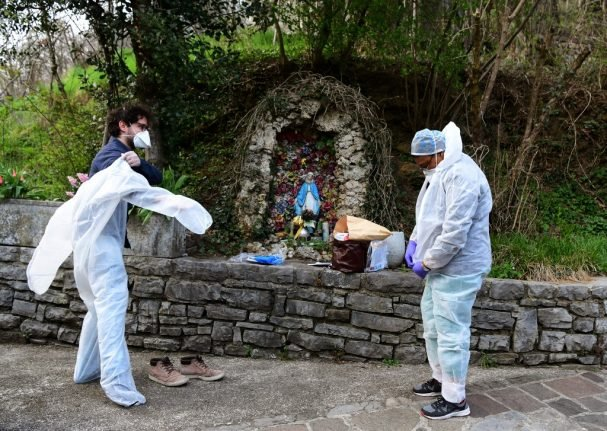 'I'm just doing my job': On call with Italy's coronavirus doctors treating patients at home