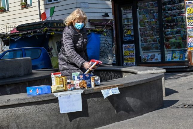 Coronavirus: Fears in Italy shift to growing number who can't afford to eat after shutdown