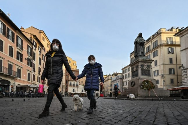 Here are Italy's new quarantine rules on jogging, walking and taking kids outside