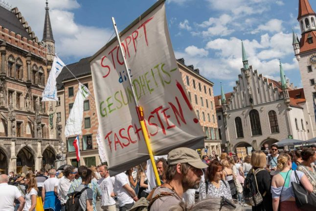 Germany concerned coronavirus protests may lead to radicalisation