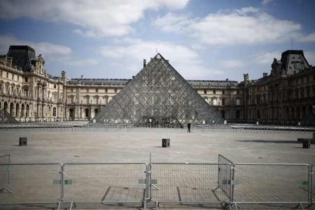 France Louvre museum prepares to reopen after lockdown from the coronavirus