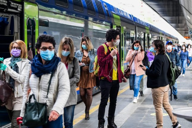 How to stay safe on public transport under Italy's lockdown phase two