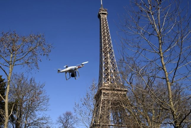 Court rules that Paris police cannot use drones to enforce lockdown