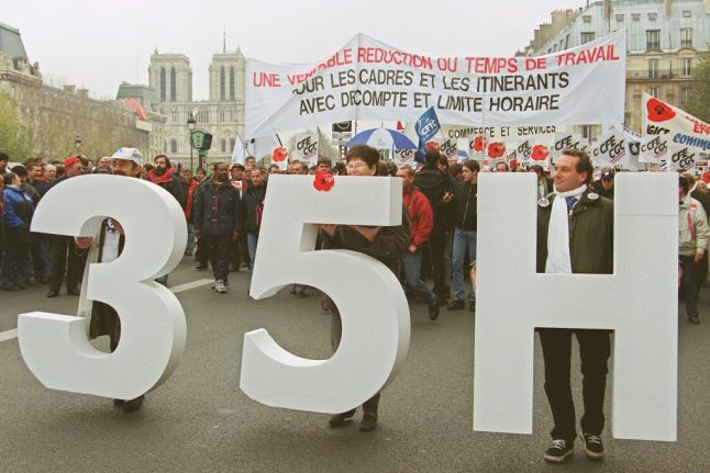 EXPLAINED: Why is France's 35-hour week such a sacred cow?