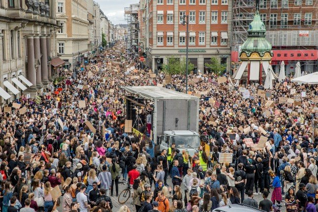 Person infected at Denmark Black Lives Matter demo: health minister