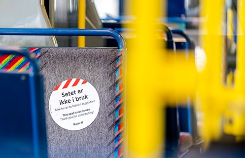 Oslo wants to relax virus rules on buses, trams and ferries