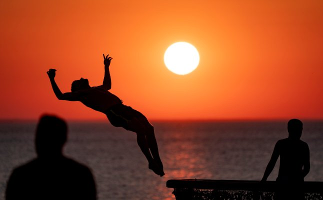 Summer nights: 12 incredible pictures of the sunset in Sweden