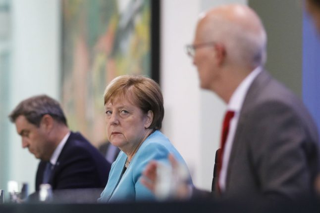 Coronavirus: Germany agrees on 'basic measures to protect ourselves'