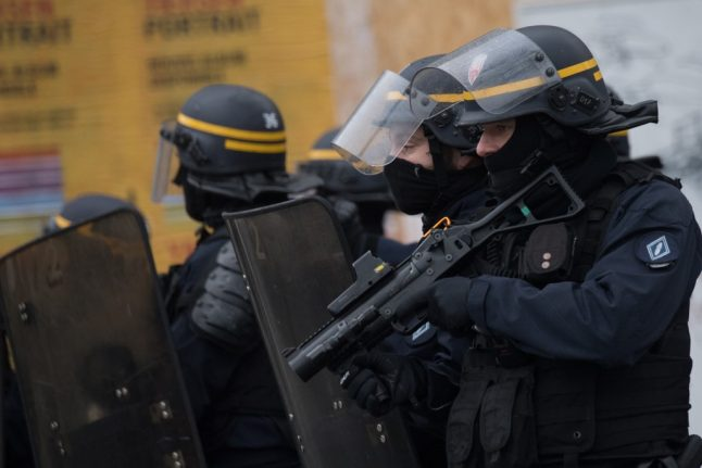Four Paris police officers questioned over death of man after chokehold arrest